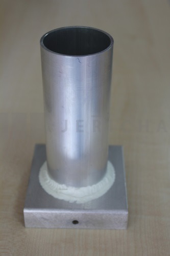 Aluminium mould cylinder 46x120 mm
