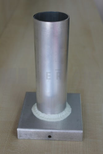 Aluminium mould cylinder 36x120 mm