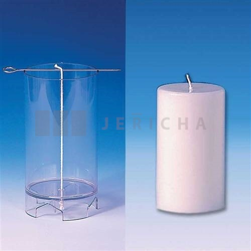 Polycarbonate moudl cylindet without spire 62x107 mm