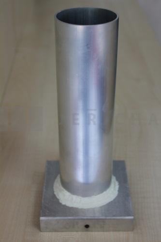 Aluminium mould cylinder 56x200 mm