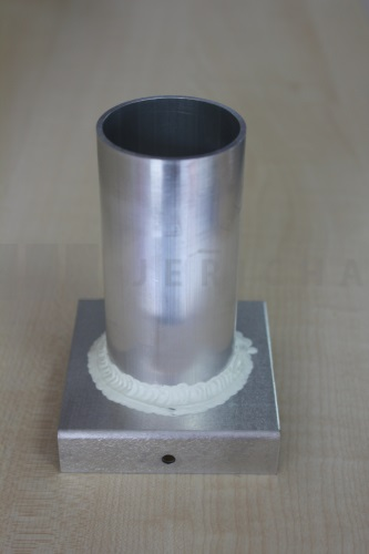 Aluminium mould 46x100 mm